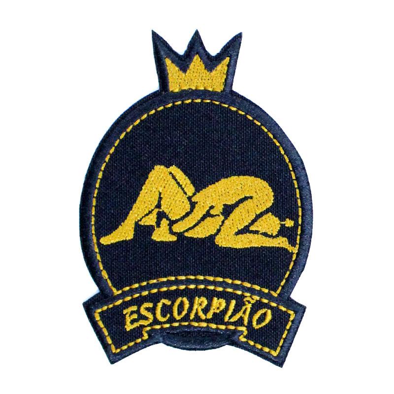 Emblema Signo Escorpião