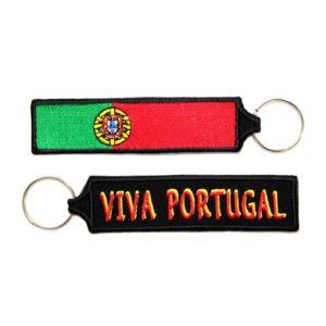 Porta-chaves Viva Portugal c/ Bandeira de Portugal