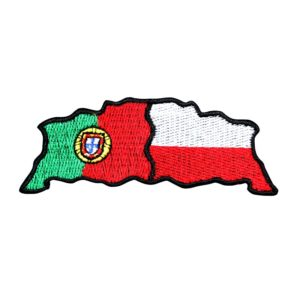Emblemas Locais Bandeira Portugal Polónia