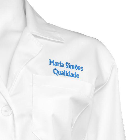 Bata Branca Personalizada para Homem Lousãtextil