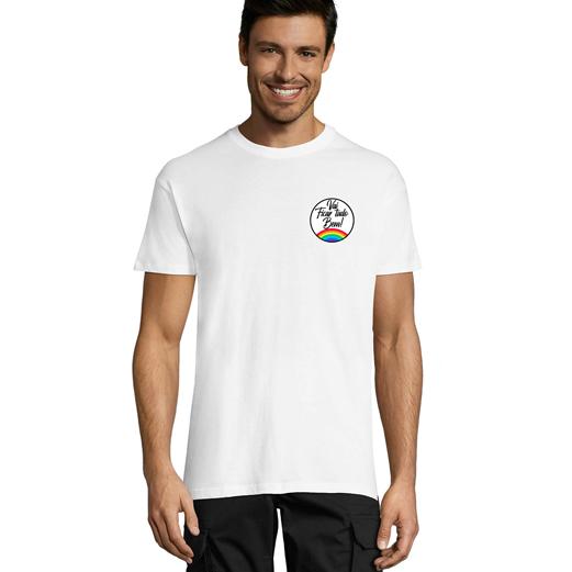 Vai Ficar Tudo Bem - Fundo Branco - T-Shirt Estampada Branca Manga Curta - Unisexo